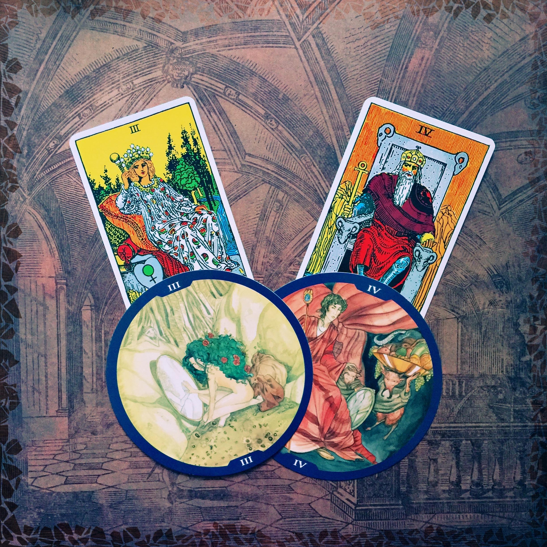 Circle of Life Tarot - Empress and Emperor