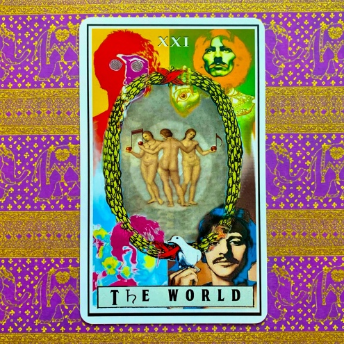 The Beatles Tarot - The World